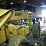 Jerry Castle and Son Hi-Lift - telehandler hydraulic boom repair