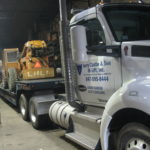 Jerry Castle and Son Hi-Lift - telehandler pickup and delivery transportation