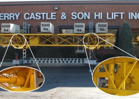Jerry Castle and Son Hi-Lift - Bennu Scaffolding Platform Series 3 - weight capacity