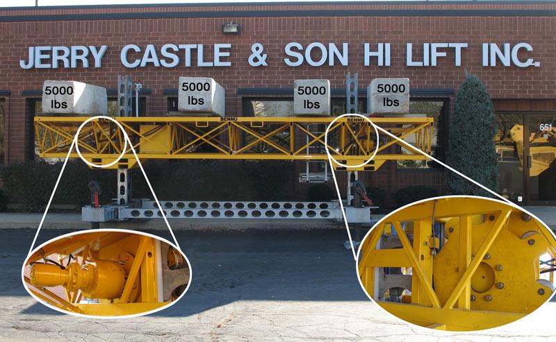 Bennu Scaffolding Series #3 weight capacity