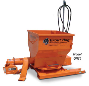 GH75: EZ Grout Hydraulic Powered Grout Hog - 985 lbs.