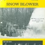 1980 Pettibone C220 Snow Blower manual frontcover