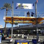 Bennu Scaffolding Mast-Climbing Platform Series 3 at the World of Concrete 2015