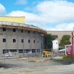 Jerry Castle and Son Hi-Lift - Bennu Scaffolding Platform Series 2 - Hoffman Estates jobsite