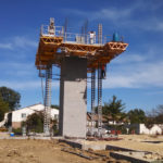 Jerry Castle and Son Hi-Lift - Bennu Scaffolding Platform Series 3: Woodridge, Illinois - Masonry Systems jobsite