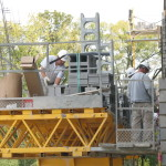 Jerry Castle and Son Hi-Lift - Bennu Scaffolding Platform Series 3 - jobsite2