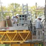 Jerry Castle and Son Hi-Lift - Bennu Scaffolding Platform Series 3 - jobsite2
