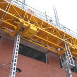 Jerry Castle and Son Hi-Lift - Bennu Scaffolding Platform Series 3 - jobsite 4