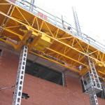 Jerry Castle and Son Hi-Lift - Bennu Scaffolding Platform Series 3 - jobsite 4