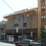 Jerry Castle and Son Hi-Lift - Chicago - Belmont Ave jobsite
