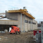 Jerry Castle and Son Hi-Lift - Schaumburg YMCA - Cyberdyne jobsite
