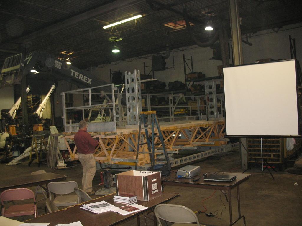 Jerry Castle and Son Hi-Lift - Bennu Scaffolding Platform Training