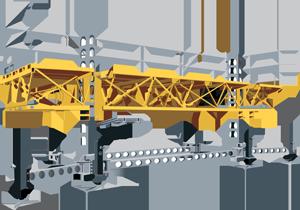 Bennu Hydraulic Scaffolding Platform Series 3 Automated Power Unit (APU)