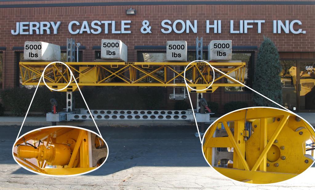 Jerry Castle and Son Hi-Lift - Bennu Hydraulic Mast-Climbing Scaffolding Platform Series #3