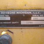 2002 Pettibone T8036 (#2246)