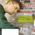 2017 Pro Masonry Magazine cover page December-January 2018